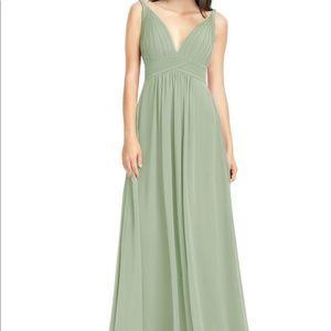 Azazie Maren Dress Dusty Sage